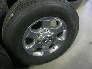 dodge ram 18'' 8 bolt wheels and tires