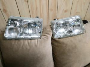 Ford ranger headlights and fog lights