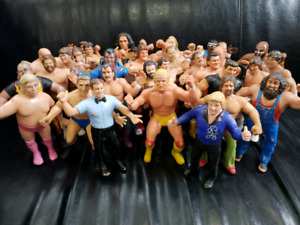 WANTED! 1980s LJN WWF WWE Rubber Wrestling Action Figures