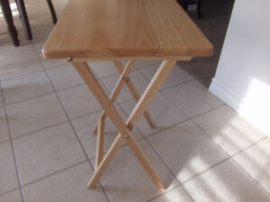 side tray table