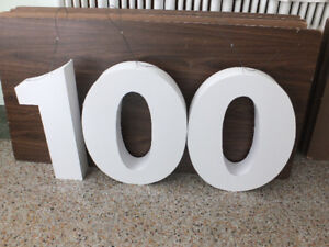 100 TH CELEBRATION SIGN  or 10th or 1st BIRTHDAY