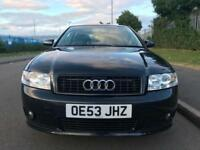 2004 (53reg) Audi A4 2.0 FSI Sport FSH NEW TYRES SUPERB INSIDE OUT BARGAIN