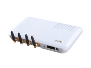 4 sim channel GOIP VOIP GSM gateway GOIP-4 support asterisk & bulk sms send