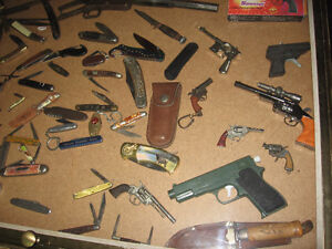 pocket knives and collectables