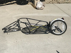 BOB Yak single wheel bike trailer