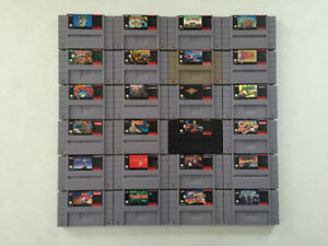 Super Nintendo video games (Ottawa) - Huge selection!!!