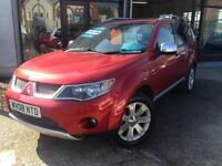 2008 (08) Mitsubishi Outlander 2.2DI-DC Diamond (Finance Available)