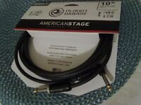 PLANET WAVES AMERICAN STAGE / & / GEORGE'S L CABLE