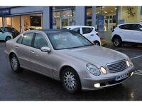 Mercedes-Benz E270 2.7TD auto 2003 53 reg CDI Elegance 1 OWNER PAN ROOF