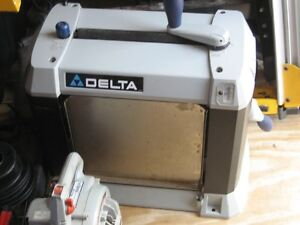 """Thickness planner Delta 13"""" moving June 4th must sell"""