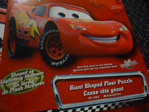 Official CARS the Movie LIGHTNING MCQUEEN Floor Puzzle Kingston Kingston Area image 4