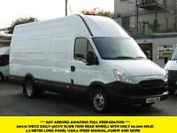 2011 IVECO DAILY 35C17V XLWB 4.5 METRE LONG DIESEL VAN WITH ONLY 50.000 MILES,TW