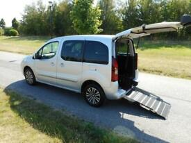 2015 Peugeot Partner Tepee 1.6 Hdi 4 Seats WHEELCHAIR ACCESSIBLE VEHICLE WAV