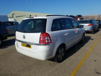 VAUXHALL ZAFIRA 1.8 2013 BREAKING FOR SPARES PLEASE CALL BEFORE YOU COME