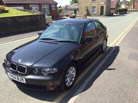 BMW compact Es 2004 .54 plate 1796 cc met black