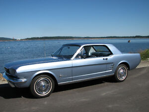 1966 Mustang, 6cyl. auto. w/pony interior