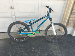 Awesome single speed custom dirt jumper