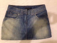 Oasis denim skirt. Size 10