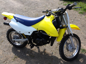2006 Suzuki 80cc 2 stroke with papers