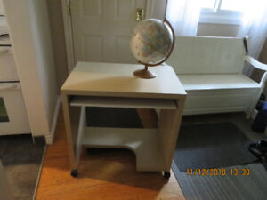 Small functional desk.