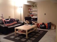Beautiful basement available August 2015