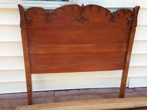 Antique early 1900's Bed Frame Wymans Yarmouth Nova Scotia