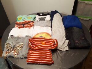 Lot 10$ : 17 mcx vêtements printemps-hiver Ado T :S