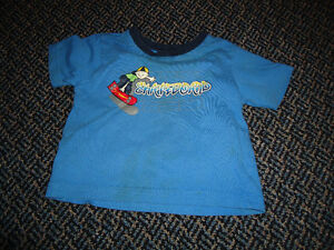 Boys Size 2 Short Sleeve Skateboarder T-Shirt