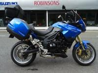 2010 10 Plate Triumph Tiger 1050 in Blue 38331 Miles