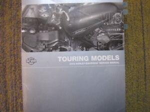 Harley Davidson 2009 Touring Model Service Manual.#99483-09