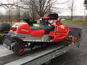 Package Deal 2X Snowmobiles with Trailer