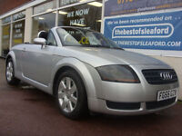 2005 Audi TT Roadster 1.8 F/S/H Finance available P/X swap