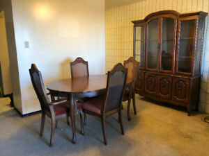3f5e96f96d77 LORD SELKIRK FURNITURE 835 Main St in Winnipeg. Dining set and China cabinet