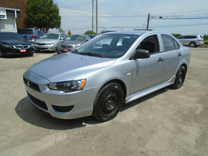 2012 Mitsubishi Lancer 90500KM | WE FINANCE | 5 SPEED MANUAL