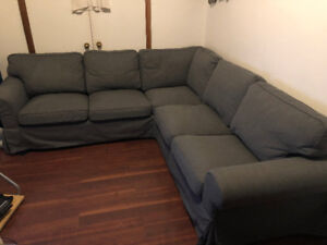 LIKE NEW - IKEA VIMLE SECTIONAL COUCH