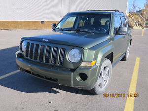 LOW KILOMETER 2007 Jeep Patriot