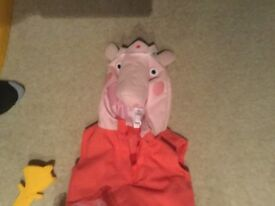 Peppa pig dress up outfit