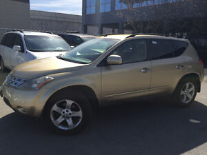 2004 NISSAN MURANO SUV,AWD,Gold/Beige Cloth !