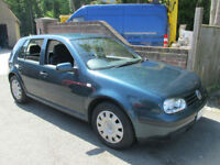 2001 (Y) VW VOLKSWAGEN GOLF 1.9 TDI SE AUTOMATIC