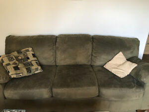 OBO Grey/green couches. Long and love seat.