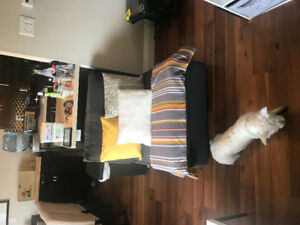 Grey Ikea Kivik Seating Series Armless Chair- Great Condition!