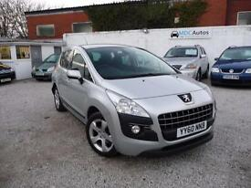 2011 Peugeot 3008 Crossover 1.6HDi EGC Sport, Diesel Automatic, Cruise EW Auto