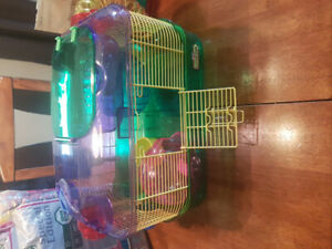 For Sale Hamster Cage & Accessories.