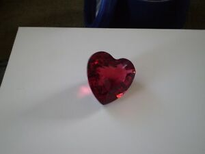 "Swarovski Crystal Figurine -"" Red Heart "" Kitchener / Waterloo Kitchener Area image 8"