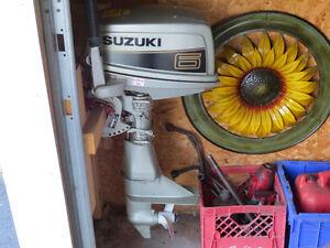 6HP Suzuki Outboard Motor