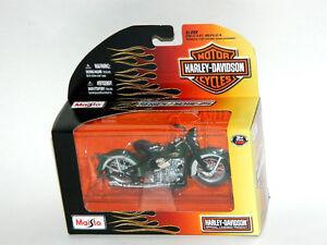 Maisto Harley Davidson 1:18 Scale Die-Cast Replica Motorcycle