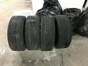 VW PASSAT CONTINENAL WINTER TIRE AND RIMS 215/55/16