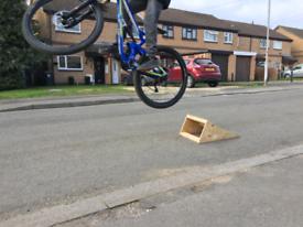 Bike Kicker Ramp, Bkke Ramp for BMX, Jump Bike, Downhill Bike