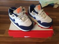 toddlers Nike and Adidas trainers