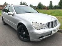 MERCEDES BENZ (2004) C200 KOMPRESSOR 1.8 PETROL AUTOMATIC ESTATE